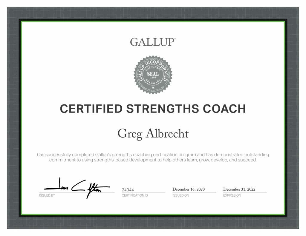 certified_strengths_coach_greg_albrecht_gallup